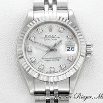 Rolex Datejust Stahl Weissgold 750 Diamanten Lady Date Just