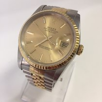 Rolex Datejust - LC 100 - Steel & Gold -New Service - Full...