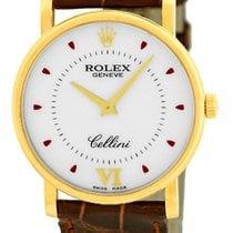 "Rolex ""Cellini"" Strapwatch."