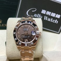 Rolex Cally - Pearlmaster Rose Gold 81315 Brown VI [NEW]