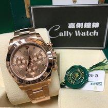 Rolex Cally - Daytona 116505A ROSE GOLD PINK DIAL 粉紅鑽石面 [NEW]