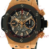 Hublot Big Bang 45mm Unico, Skeleton Dial, Black Ceramic Bezel...