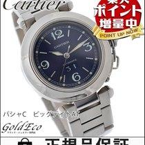 カルティエ (Cartier) 【美品】Cartier【カルティエ】 パシャC ビッグデイト ボーイズ腕時計【中古】...