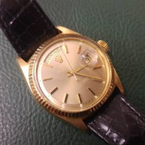 Rolex Day-Date - service rolex - Gold 18Kt / Leather - 1985 - Box