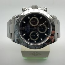 "Rolex Daytona Cosmograph Black Dial ""MINT"" Papers 116520"
