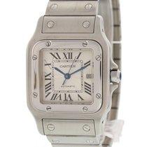 Cartier Santos Galbee Stainless Steel Date Watch 2319