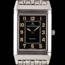 Jaeger-LeCoultre Stainless Steel Black Dial Reverso Gents...