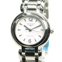 Longines Prima Luna Stainless Steel White Automatic L8.111.4.16.6
