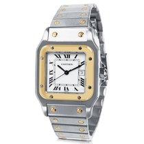 Cartier Santos Men's Watch in 18K Yellow Gold/Steel