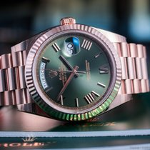 Rolex Oyster Perpetual Day-Date 40 18k Rose Gold