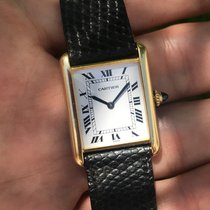 Cartier Tank Louis Cartier - 18K Yellow Gold