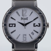 Piaget Polo Mens, Platinum, Very Rare, Automatic, White Dial,...