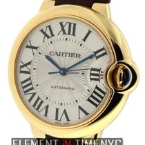 Cartier Ballon Bleu Collection Mid-Size 36mm 18k Yellow Gold...