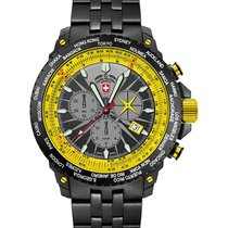 Swiss Military Cx Swiss Military Hurricane Worldtimer Watch...