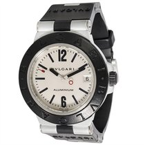 Bulgari Diagono AL 38 TA Unisex Watch in Aluminum