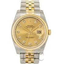 Rolex Datejust Gold/Steel Gold colored/Steel Ø36 mm - 116233