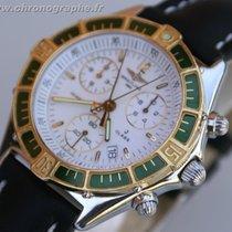 Breitling CLASSE J chrono Or et Acier Homme 1996