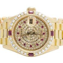 Rolex Ladies Rolex President Datejust 18K Yellow Gold 69178...