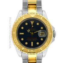 Rolex ladies stainless steel and 18k yellow gold Yachtmaster