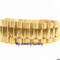 Rolex Aftermarket 18k Birch Bark Bracelet Band for Mens President