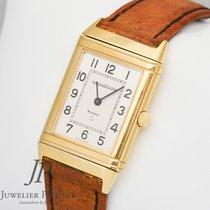 """Jaeger-LeCoultre Reverso Vintage """"Q""""  Quarz Gold 750..."""