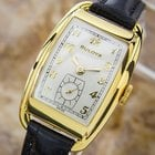 Bulova Rare Beautiful 1950s Mid Size Manual Gold Filled Swiss...