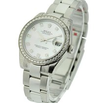 Rolex Unworn 178384 Datejust Midsize 178384 with Oyster...