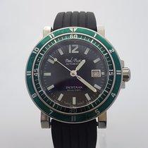 Paul Picot Yachtman 44MM Green Bezel