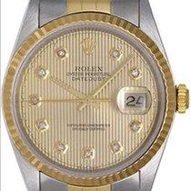 Rolex Datejust Men's 2-Tone Steel & Gold Watch...