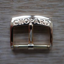 Chopard 16 mm YELLOW Gold pin buckle dornschliesse
