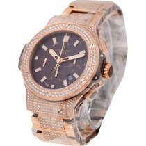 Hublot 301.pc.3180.pc.2704 Rose Gold 44mm Big Bang with Full...