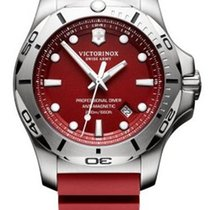 Victorinox Swiss Army I.N.O.X. PROFESSIONAL DIVER Dial Red...