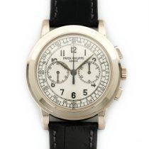 Patek Philippe White Gold Chronograph Watch Ref. 5070G