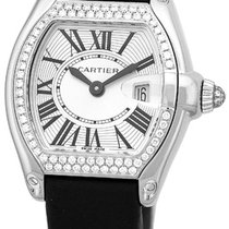 "Cartier Diamond ""Roadster"" Strapwatch."
