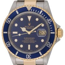 Rolex : Submariner Date :  16613 :  18k Gold & Stainless...