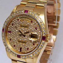 Ρολεξ (Rolex) Day-Date President 18k Yellow Gold Diamond/Ruby...