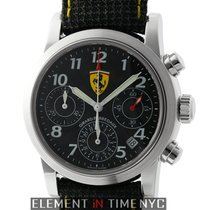 Girard Perregaux Ferrari Chronograph Stainless Steel Carbon...