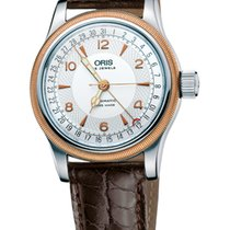 Oris Big Crown Original Pointer Date, Steel\Gold, Leather