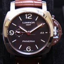 Panerai Luminor 1950 3 Days GMT Acciaio Ref.PAM 320