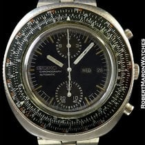 Seiko 6138-7000 Chronograph Pilots Watch With Slide Rule