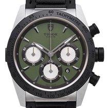 帝陀 (Tudor) Fastrider Chronograph 42 mm Ref. 42010N Lederband