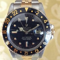 Rolex GMT 1675  STEEL AND GOLD NIPPLE DIAL BLACK