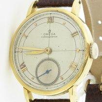 Omega Vintage Chronometer Mechanical Ref. 30t2 Rg 18k Yellow...