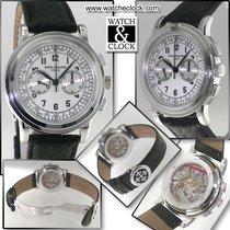 パテック・フィリップ (Patek Philippe) Classic Chronograph Oro Bianco