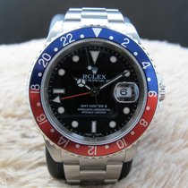 Rolex Oyster Perpetual Gmt Master 2 16710 Stainless Steel...