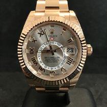Rolex Sky-Dweller Rosegold Ref.326935 Sundust Roman Dial