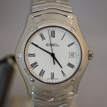 Ebel Classic Wave Herrenuhr 37mm Quarz NEU