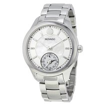 Movado Bellina Motion White Mother Of Pearl Dial Ladies Smart...