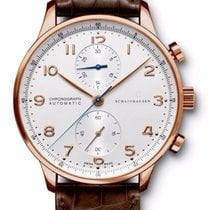 IWC Portoghese Rose Gold White Dial - Iw371480