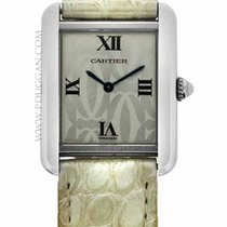 Cartier ladies stainless steel Tank Solo